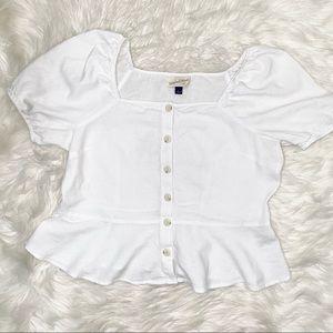 Universal Thread buttons down blouse sz L